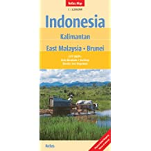 Indonesia Kalimantan East Malaysia Brunei : 1/1 500 000