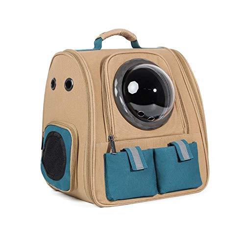 ROLLCW Hunderucksack Carrier Cat Backpack für große Katzen Pet Carrier Rucksack für mittelgroße Hunde Cat Carrier Rucksäcke für Wandern Pet Rucksack (Color : C-2) -
