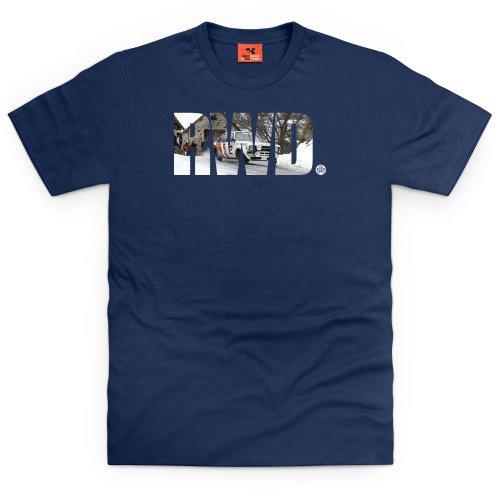 PistonHeads RWD T-shirt, Uomo Blu navy