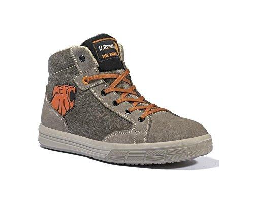Chaussures de Sécurité Basket Montante Beige Beige