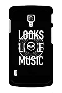 Caseque Looks Like Music Back Shell Case Cover for LG L72