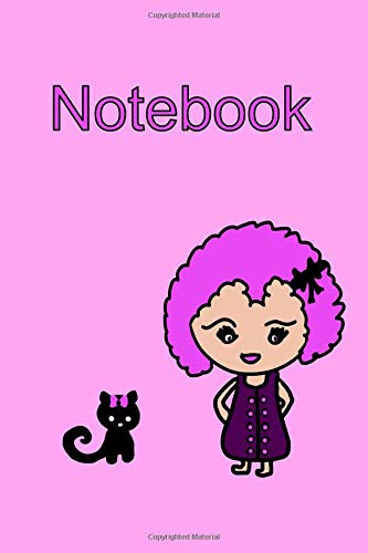 Notebook Kawaii Girl and Cat in Pink: Kawaii, Chibu and Chibi lovers will appreciate this cute journal that is the perfect organizer due to Subject ... embedded on every page for extra appeal.