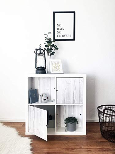 Regaleinsatz passend für Ikea Kallax Expedit | Als stufenlos verschiebbare Cover | Nutzbar als...