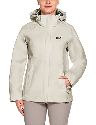 free shipping 8bf40 966aa Jack Wolfskin - Giacca da Donna Seven Lakes, Impermeabile e ...