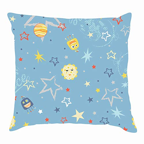 dfgi Baby Boy Space The Arts abstractThrow Pillow Covers Cotton Linen Cushion Cover Cases Pillowcases Sofa Home Decor 18