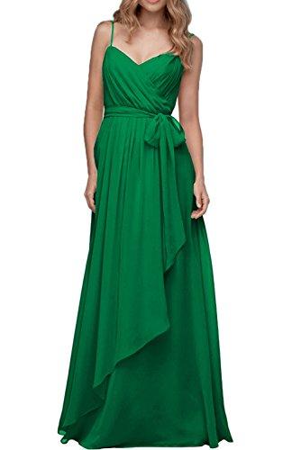 ivyd ressing Donna Zaertlich scollo a cuore A-Line di Kurz Prom abito party abito da sera Verde