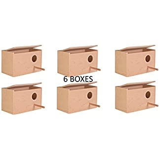 6 X TRIXIE SMALL BUDGIE BIRD CAGE AVIARY NEST NESTING BREEDING BOX BULK 5630 6 X TRIXIE SMALL BUDGIE BIRD CAGE AVIARY NEST NESTING BREEDING BOX BULK 5630 41VOn7HF4bL
