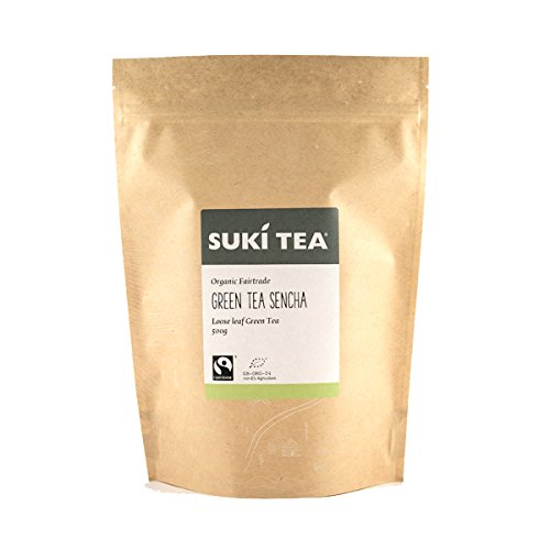 Suki Tea Loose Green Tea 500 g (Organic)