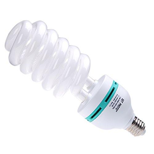 Andoer E27 220V 135W 5500K Photo Studio Ampoule Daylight Lumière / vidéo Photographie Lampe