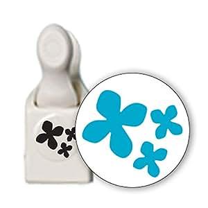 Martha Stewart - Perforatore decorativo per carta 3 in 1, motivo ortensia