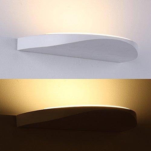 Lanfu Stylisch Wandleuchte led Wandlampe Sehr schickes Design Warmweiße LED-Wandleuchte ideal für...