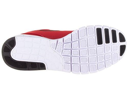 Nike Stefan Janoski Max, Scarpe da Skateboard Uomo, Orange (Arancione), Talla Rosso / Nero / Bianco (Università Rosso / Nero-Bianco)