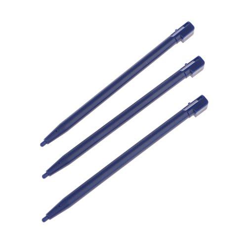 MagiDeal 3 Stücke Tastschirm Stifte, Ersatz Eingabe Geräte für Nintendo DS Lite Konsole - Farbe Wahl - Blau
