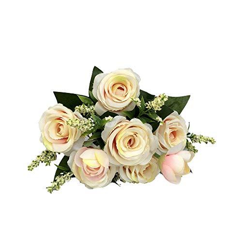 TianWlio Künstliche Gefälschte Blühende Rose Flower Bridal Bouquet Wedding Party Home Decor