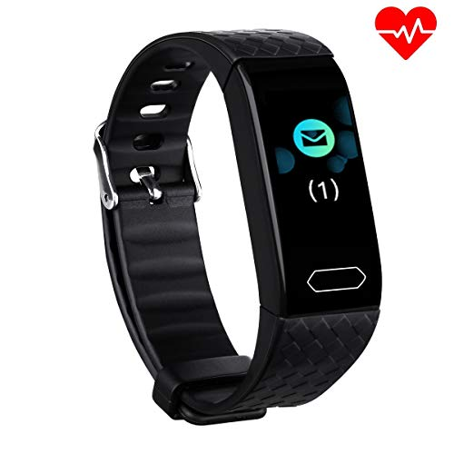 Diggro DB-08 Fitness Tracker with Heart Rate Monitor Activity Tracker Sports Pedometer Watch Step Counter Wristband Sleep Monitor Calorie Counter Smart Watches IP67 Waterproof for Kids Women Men