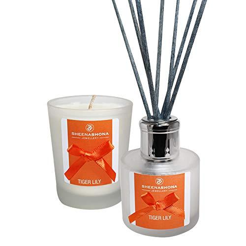 Tiger Lily Coffret cadeau avec diffuseur de parfum