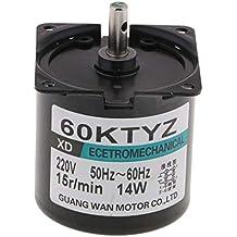 P Prettyia 60KTYZ 220V 15rpm Motor Síncrono Eléctrico Magnético Permanente 14W
