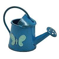 Studio M Miniature Fairy Garden Blue Butterfly Watering Can
