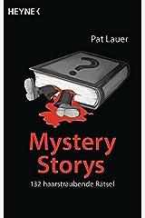 Mystery Storys: 132 haarsträubende Rätsel Taschenbuch