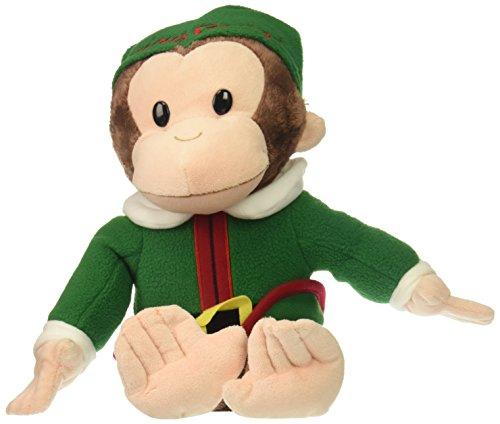 Curioso-come-George-Gund-Elf-vacanze-pupazzo-di-pezza