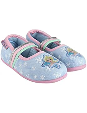 Frozen, Pantofole Bambine Blu Blu