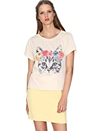 Pepa Loves, TSHIRT HAWAIAN CAT - CAMISETA para mujer