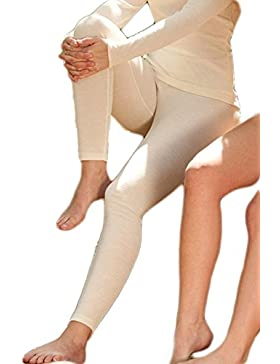 Damen Legging, Wolle Seide, Gr. 34-48, 2 Farben