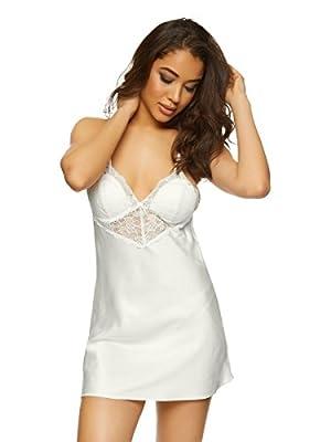 Ann Summers Womens Rosie Chemise Ivory Sexy Lingerie Sleepwear Nightwear