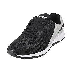 WALKWAY Men BLACK/GREY Synthetic Walking Shoes ( SIZE EURO43/UK9 ) ( 252-9412-94-43 )