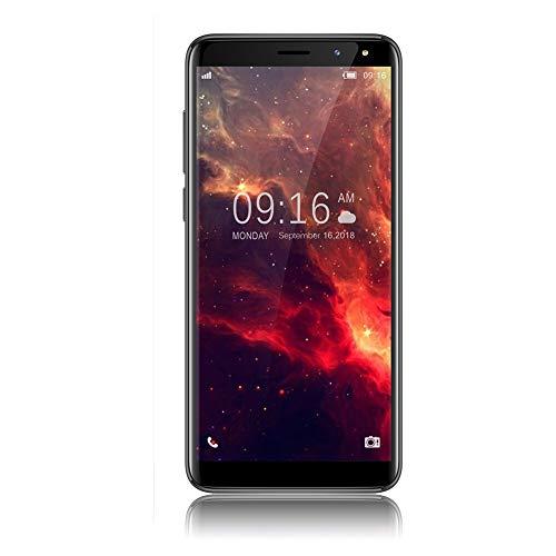 Wifi 3g Smartphone (Handys Ohne Vertrag, VIVK F7 5,5 Zoll (18:9) Infinity Display 3G Dual SIM Smartphone, 8GB Interner Speicher, Dual RückseitenKameras (5MP+8MP), WiFi, GPS - Schwarz)