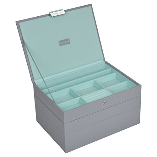 stackers-set-of-3-classic-size-dove-grey-stacker-jewellery-box-with-mint-green-lining