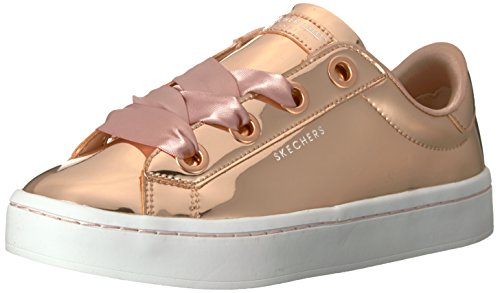 Skechers Hi Lite-Liquid Bling, Sneaker Donna Oro (Rose Gold)