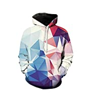 Creative geometry Hoodies For Women Men fashion Streetwear Clothing Hooded Sweatshirt 3d Print Hoody casual Pullover mm Multi Color XL