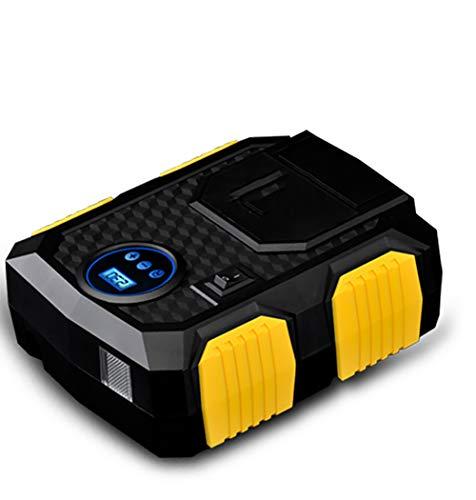 AWAKMER Gonfiatore per Pneumatici Digitale Automatico Pompa per Pneumatici 12V con Luce a LED per Auto Motociclo Pneumatici della Bicicletta e Altri gonfiabili