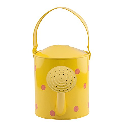 Nuha 5 Liters Watering Can -Polka Dots, Rust Free, Gift, Gifting, Garden, Gardening, Tools