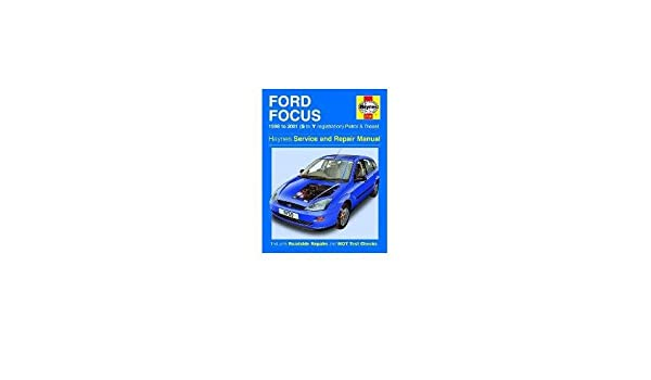 Ford Focus 1.4 1.6 1.8 2.0 Petrol 1.8 TD 98-01 S to Y Reg 3759 Haynes Manual