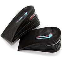footinsole 3-Schicht Luft oben Höhe erhöhen Aufzug Schuhe Einlage Lift Kit - 6 cm Heels fügt für Männer und Frauen preisvergleich bei billige-tabletten.eu