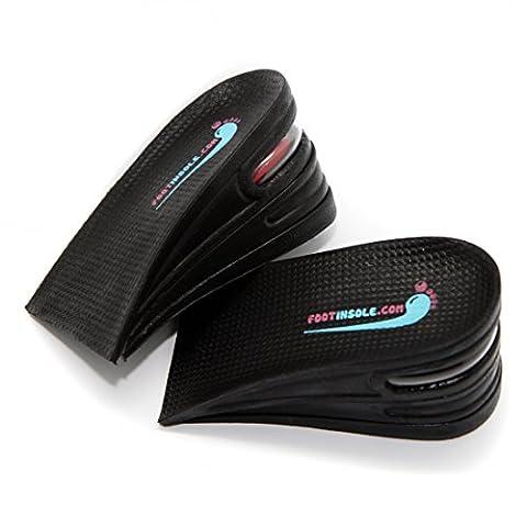 3-couche d'air réservoir chaussures de haut niveau d'apport lift kit pour joint talons de 6 cm les hommes et femmes