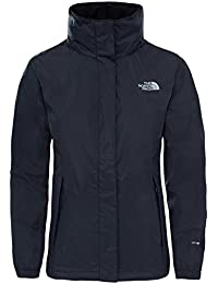 North Face W Resolve 2 Chaqueta, Mujer, Negro, S
