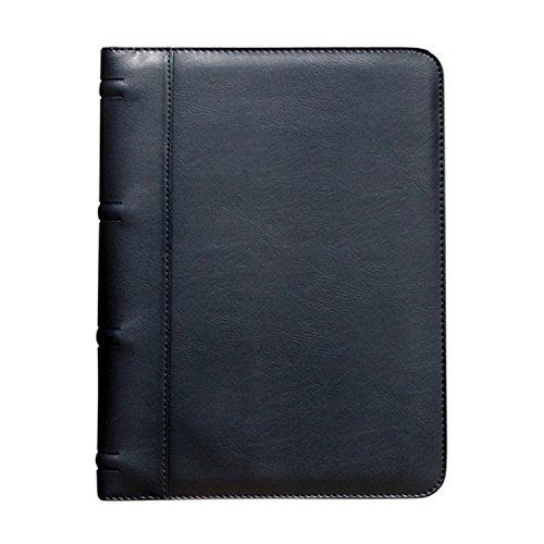 Padfolio, Buyagain G-9-Schwarz Business Resume Dokument Veranstalter Padfolio Portfolio Halter mit mehreren Taschen und ID-Karte Fenster. - Mehrere Karten Taschen