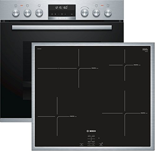 Bosch Home Horno (Acero Inoxidable, hnd675ls65