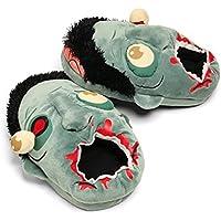 LEORX Coppia di Peluche Zombie Pantofole -