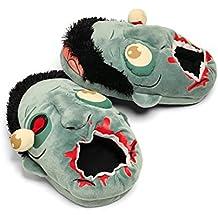 LEORX Zapatillas de Peluche Zombie, 1-pair tamaño libre