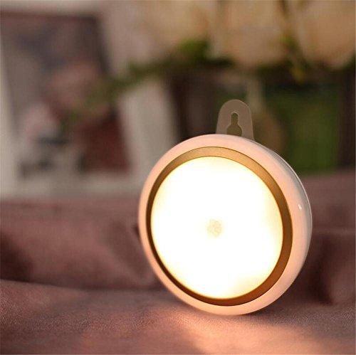 H&M Tischleuchte Intelligentes geführtes helles Nightlight USB-aufladenenergiesparendes Schlafzimmer Kinderzimmer-Badezimmer-Gang-menschlicher Körper-Induktions-Licht-betriebene Nachtlampe (Aussetzung Einziges Licht)