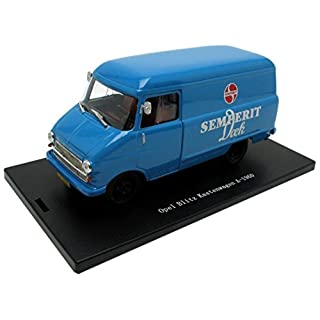 Opel Blitz Kastenwagen 1960 Semperit Dock 1:43 Model 53053