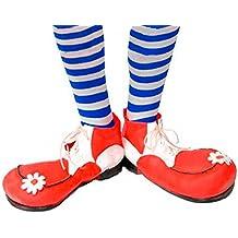 Guirca - Zapatos payaso infantil-[Color:Rojo]