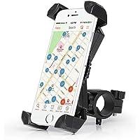 Amoner Fahrrad Handyhalterung, 3th Generation Universal Handy Halterung Outdoor Fahrradhalterung Motorrad Fahrrad Lenker Mit 360 Drehen
