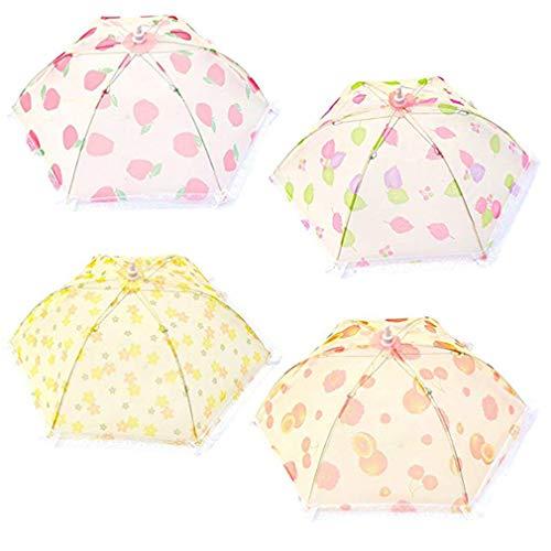 Zhongke cupole alimentari ombrello pieghevole della tenda dell'alimento riutilizzabile dell'alimento copertura maglia per il bbq all'aperto di picnic conveniente