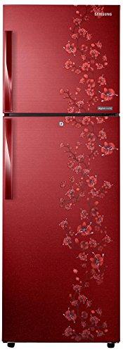 Samsung RT29HAJSARX Frost-free Double-door Refrigerator (275 Ltrs, 3 Star Rating, Orcherry Garnet Red)
