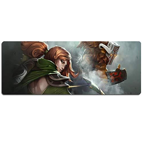 IGIRC Mauspad Canyon Battle Speed   Gaming Mauspad |XXL Mousepad | 900 x 400mm Großformat |3 mm Dicke Basis |Perfekte Präzision undGeschwindigkeit, E